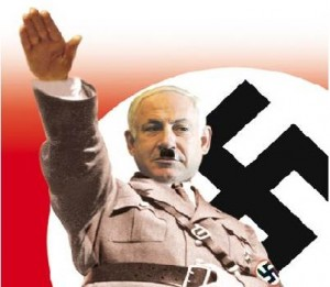 netanyahu-as-nazi