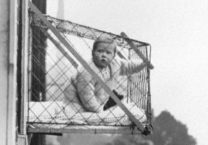 Baby cages for 1930s apartment l