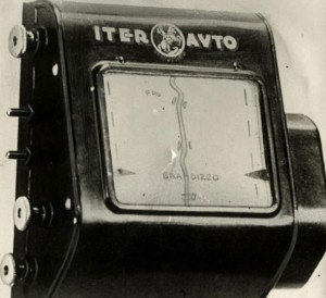 The 1930's version of a GPS: This auto scrolling map was supposed to help people with directions in real time