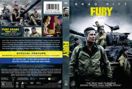 Fury, dvd cover