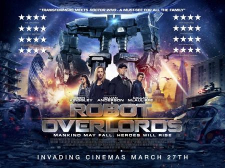 Robot Overlords Poster