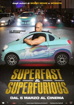 poster superfast superfurious