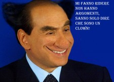 berlusconi-clown