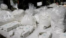 Six tons of cocaine and other drugs were seized in Guaracu, Colombi