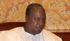 Reports: Vice President John Dramani Mahama sworn in new president