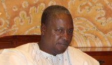 Reports: Vice President John Dramani Mahama sworn in new president