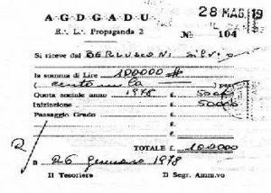 Berlusconi P2 iscrizione