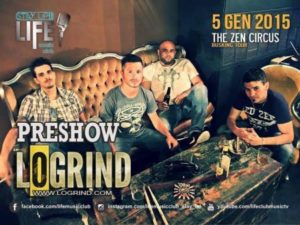 The Zen Circus - 05 gennaio 2015 - Life Music Club - Oristano (OR)