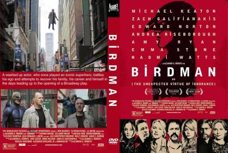 Birdman dvd cover