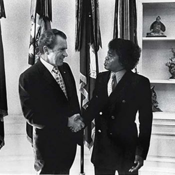James Brown, the Nixon's Clown