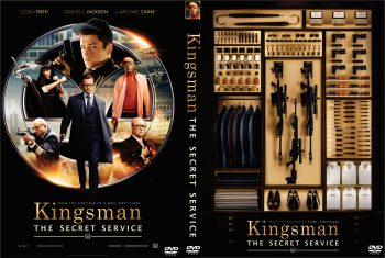 Kingsman - Secret Service dvd cover 01