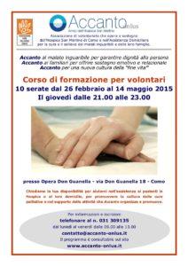 Locandina corso formazione2015