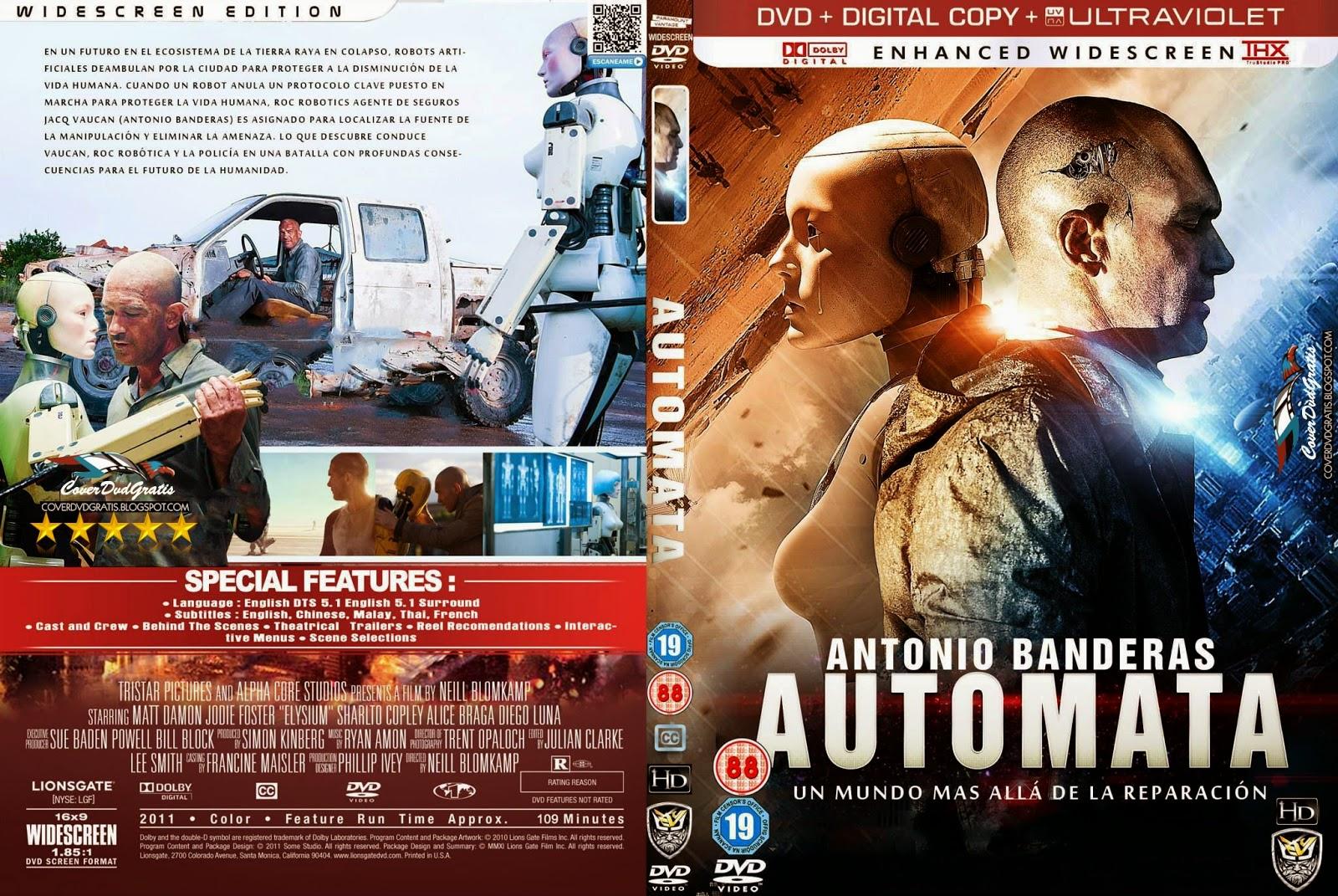 Automata, Dvd Cover