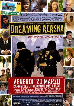 Dreaming Aalska - Locandina Caniparola