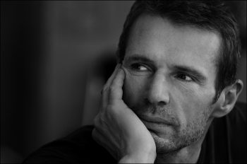 Close up french actor and singer Lambert Wilson.