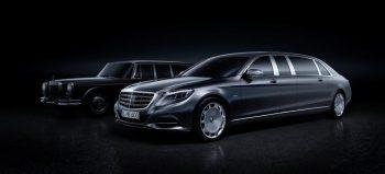 Nuova Mercedes-Maybach Pullman