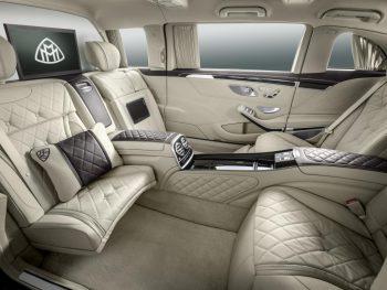 Nuova Mercedes-Maybach Pullman interni