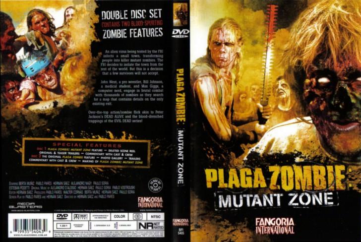 Plaga Zombie: Zona Mutante  dvd cover