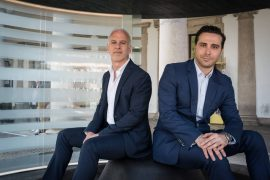 L'architetto newyorkese Steve E. Blatz (a sinistra) e l'architetto italiano Antonio Pio Saracino (a destra), affermati professionisti con sede negli Stati Uniti, raccontano l'idea che ha generato il progetto