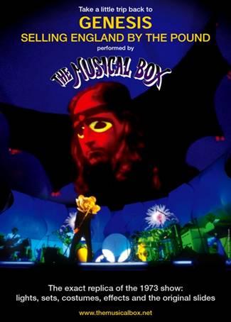 The Musical Box dal vivo in Italia