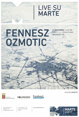 Fennesz Ozmotic in concerto a Cava de' Tirreni