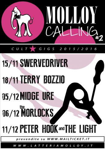 Latteria Molloy: gli swervedriver si aggiungono alla rassegna Molloy Calling