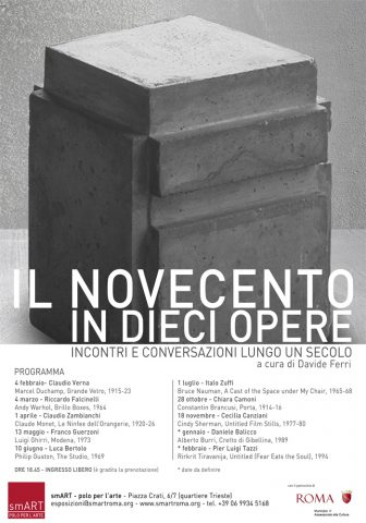 Locandina_Incontro_NovecentoInDieciOpere