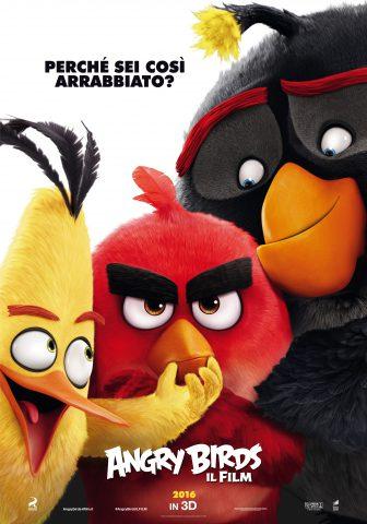 Angry Birds - Il Film. Nuovo poster ufficiale italiano