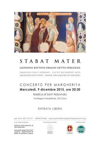 Stabat Mater di G.B. Pergolesi: un concerto per Margherita - 9 dicembre, Como