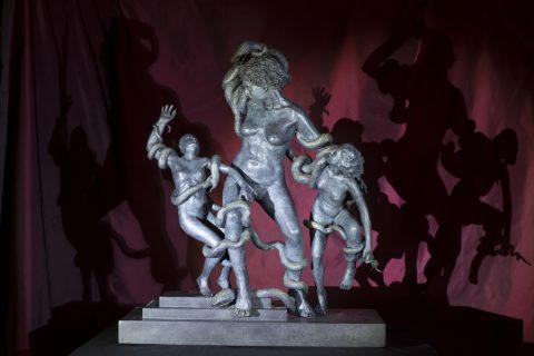 02_-La-Laocoonte-di-Lea-Monetti-2015 bronzo-Courtesy-Galleria- Laocoonte
