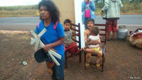 Brasile: comunità guarani sfrattata, demolite le case