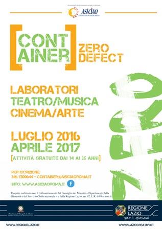 Container Zero Defect, la comunità giovanile per artisti emergenti