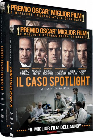 Il film premio Oscar® IL CASO SPOTLIGHT  in DVD E BLU-RAY e in VOD