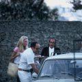 Salvador Dalí and Amanda Lear in Cadaqués, Spain in 1972 (6)